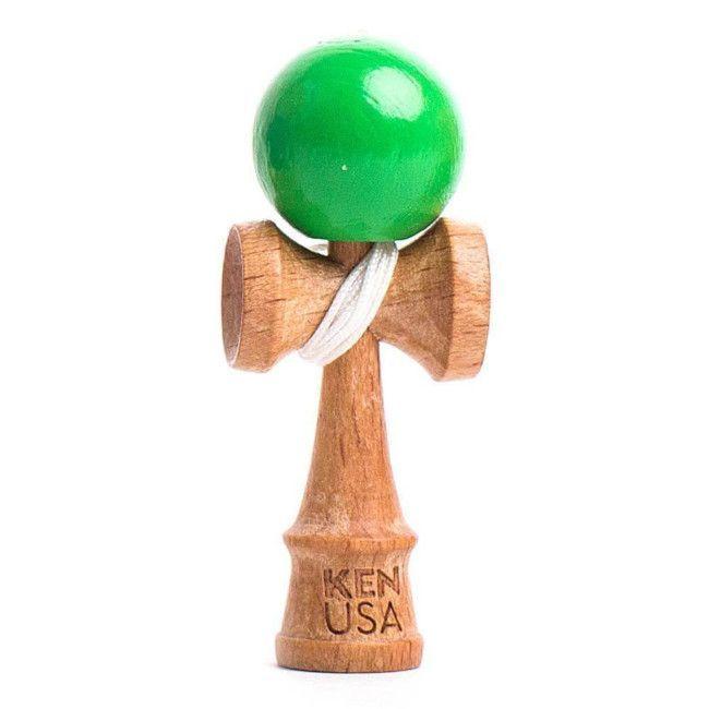 nano-kendama verde