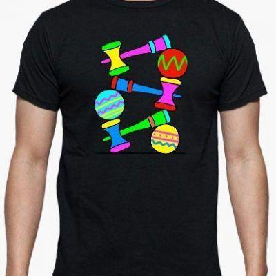 camiseta de kendamas