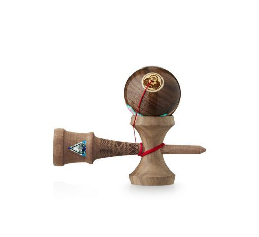 kendama Walnut Headshot Bonz