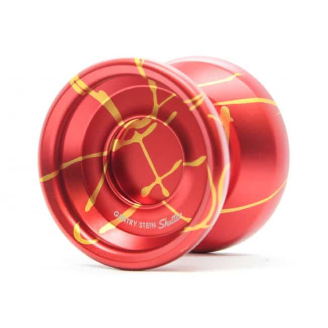 yoyofactory shutter splash red gold