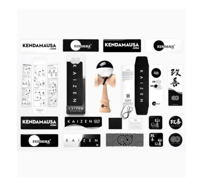 Kendamausa blanco negro